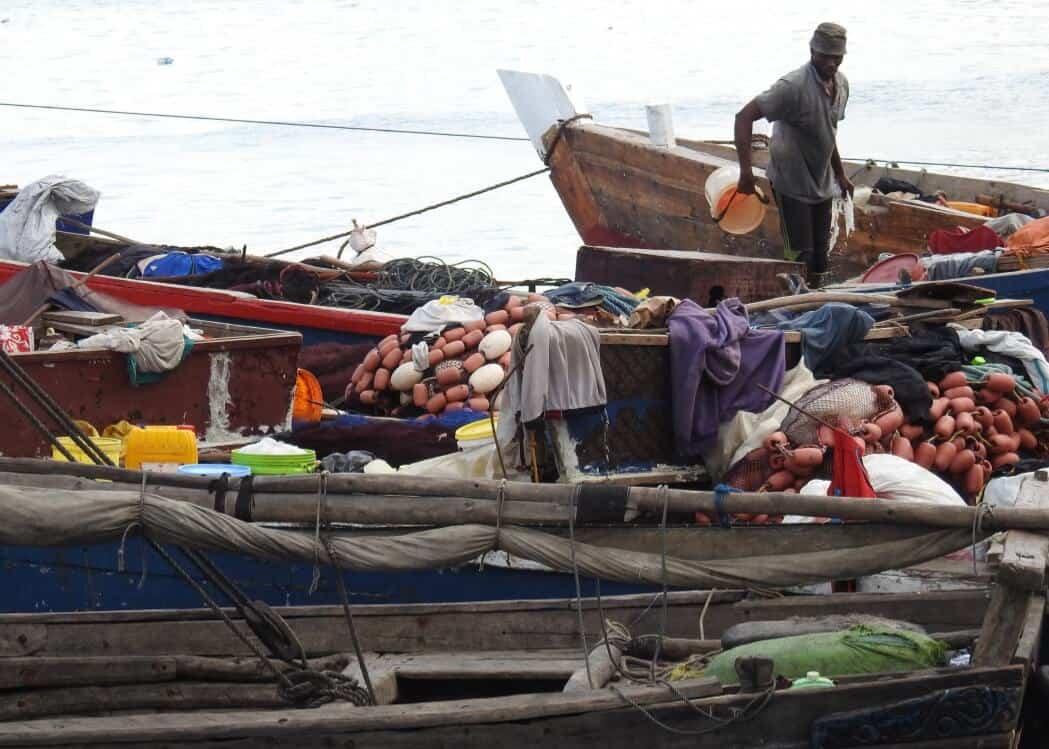 Dhow Harbour Zanzibar