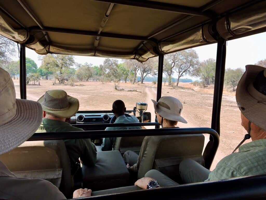 game drive lower zambezi