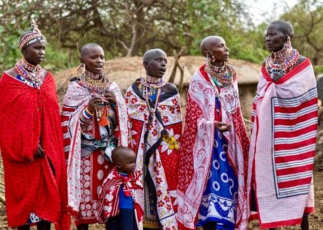 Masai women Amboseli