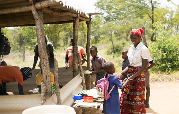 school visit Zimbabwe