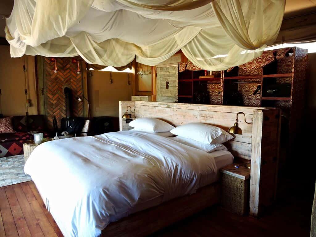 tent Hwange Zimbabwe